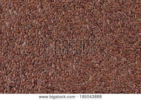 Flax Seeds Background, Popular Dietary Product For A Healthy Diet
