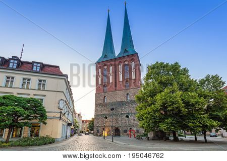 St. Nicholas Church, the oldest church in Berlin, Germany