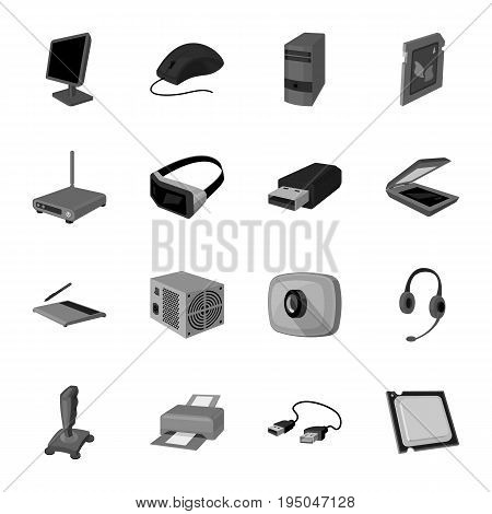Champagne, firecrackers, cake items for the holiday.Party And Parties set collection icons in monochrome style vector symbol stock illustration .