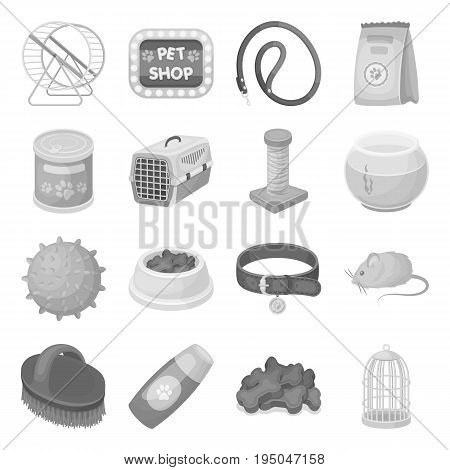 Personal computer accessories set icons in monochrome design. Big collection of personal computer accessories vector symbol stock illustration