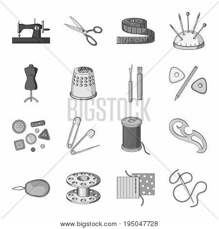 Sea animals set icons in monochrome design. Big collection of sea animals vector symbol stock illustration