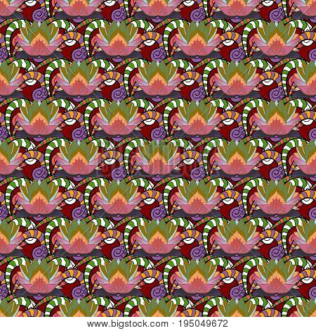 Motley illustration. Vector cute pattern in small flower. Small colorful flowers. Spring floral background with flowers. The elegant the template for fashion prints.