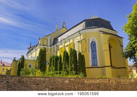 Cathedral for Saint Peter and Paul in Kamyanets-Podilsky city Ukraine