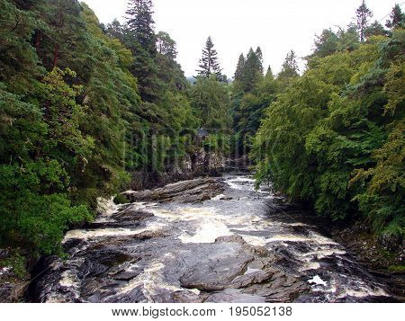 Invermoriston is a small village 11 kilometres north of Fort Augustus, Highland, Scotland