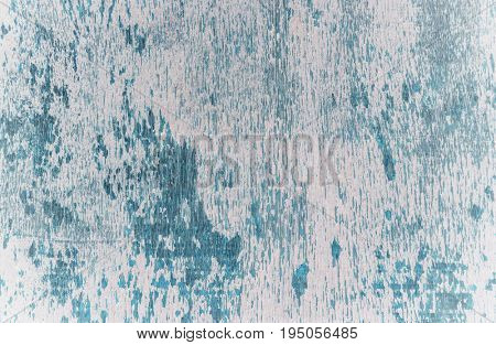 White and blue grunge wood surface for background