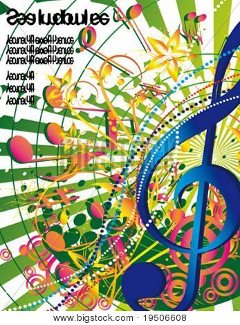 Background musical theme Flowers and feelings