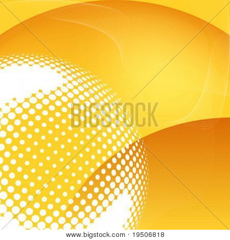 Abstract background Heat and sand dunes VECTOR (See Jpeg Also In My Portfolio)