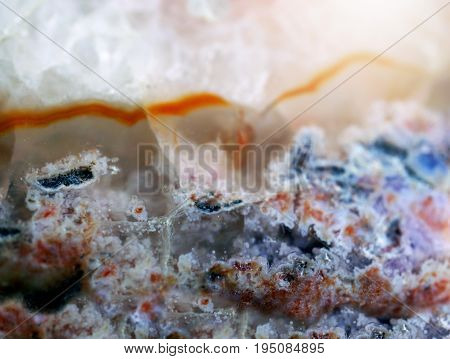 Gemstone Agat Macro Texture