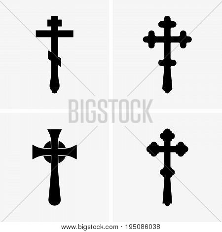 Blessing cross is a hand cross held by a priest or bishop in Eastern Christianity when he gives a benediction