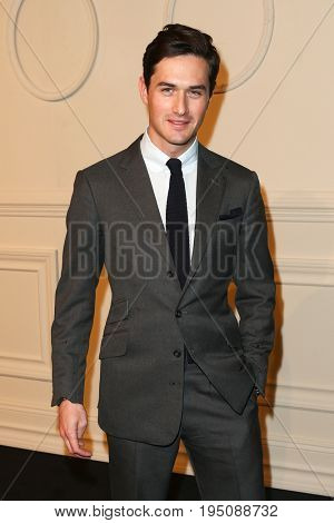 NEW YORK-MAR 31: Classical violinist Charlie Siem attends the CHANEL Paris-Salzburg 2014/15 Metiers d'Art Show and Party at the Park Avenue Armory on March 31, 2015 in New York City.