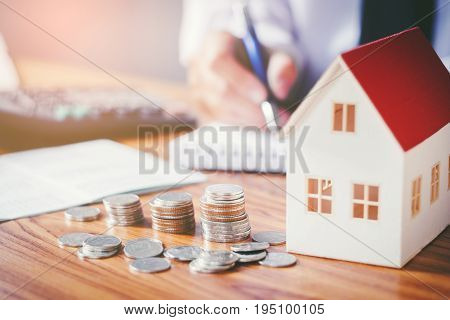 Save money for home cost house, protect