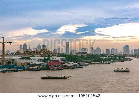 Panorama view at