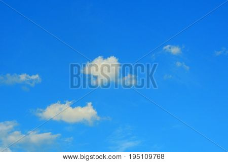 Blue Sky. Background