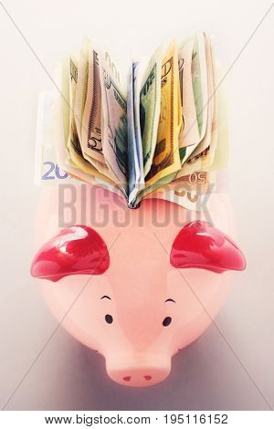 Full Piggy Bank
