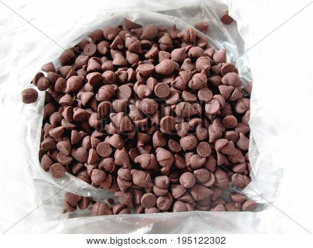 Chocolate Chip Chip. The sweet flavor of concentrated cocoa is ready to be processed into various types of desserts.