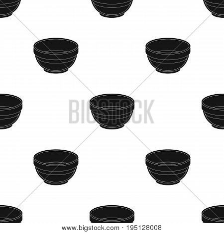 Bowl of oil.Olives single icon in black style vector symbol stock illustration .