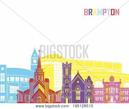 Brampton Skyline Pop