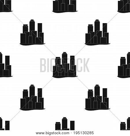Metropolis.Realtor single icon in black style vector symbol stock illustration .