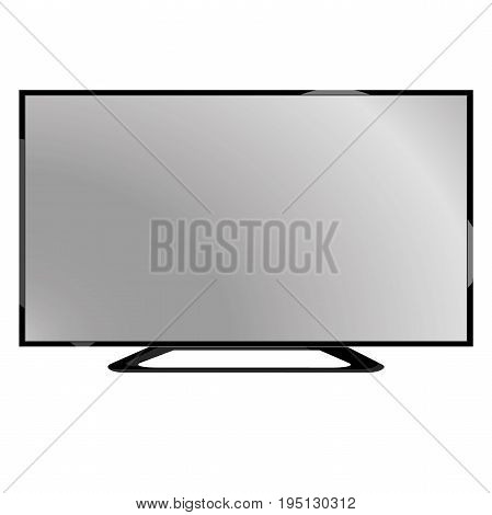 Lcd tv in vector for sale or banner