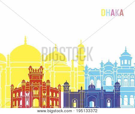 Dhaka Skyline Pop
