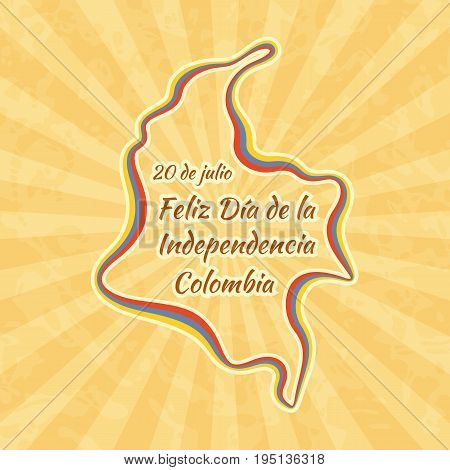 Happy Independence Day In Colombia