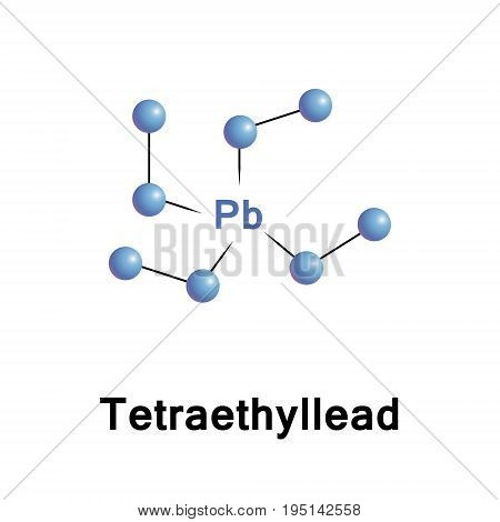 Tetraethyllead is an organolead compound. TEL was mixed with gasoline as a patented octane rating booster that allowed engine compression to be raised substantially