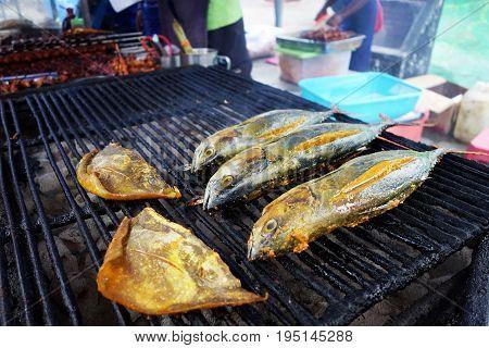 Grilled Fish At Sabah Malaysian