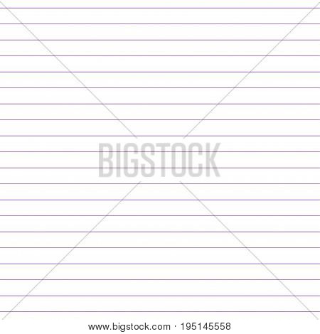 Seamless pattern of sheet of notebook. Book in a line.Seamless pattern included in swatch panel.Vector background.