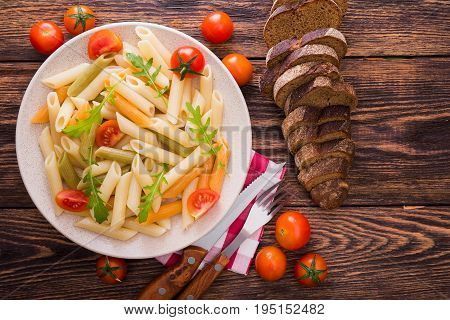 Penne Pasta With Fresh Tomato