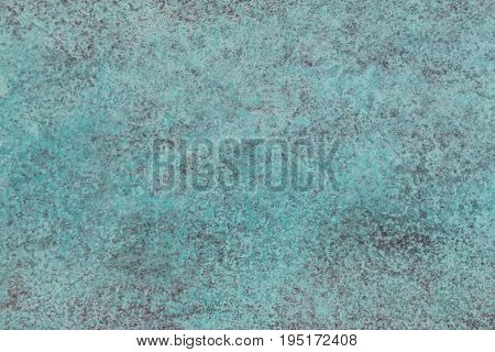Green patina of copper structure picture texture