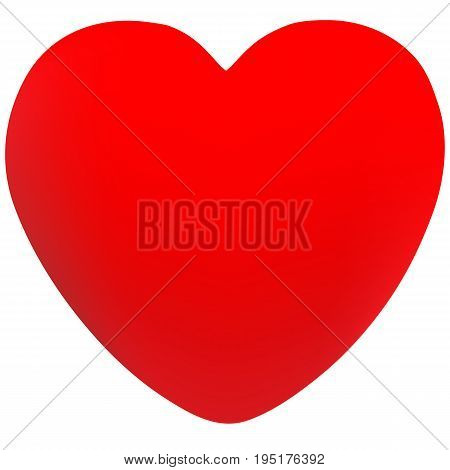 Isolated heart design vector made with mesh