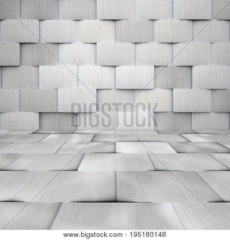 Aluminium Tiled Room