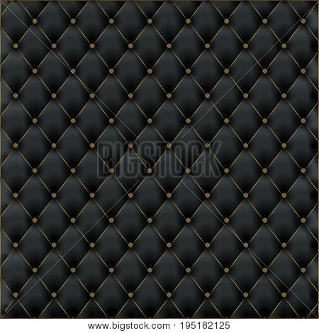 Leather texture luxury black background. Leather pattern material for furniture wallpaper.