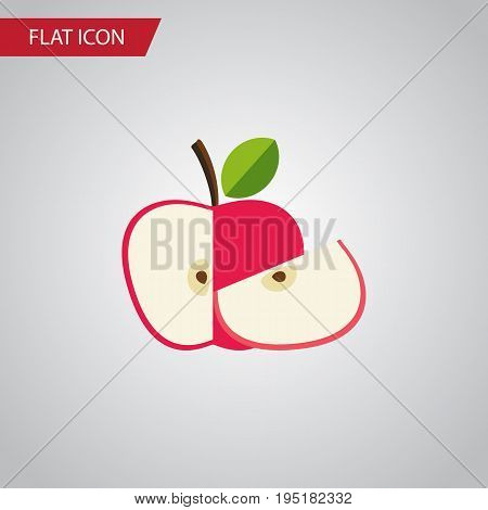 Isolated Harvest Flat Icon. Jonagold Vector Element Can Be Used For Jonagold, Apple, Harvest Design Concept.