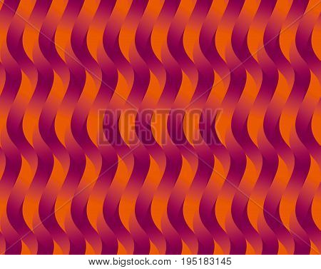 red wave geometry abstract wave seamless pattern