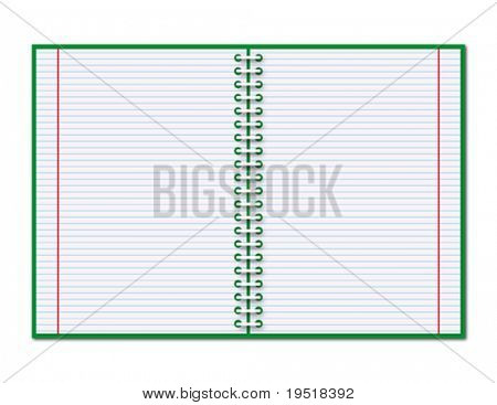 Open copybook