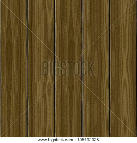 Planked wood fence 3d surface seamless wooden planks background