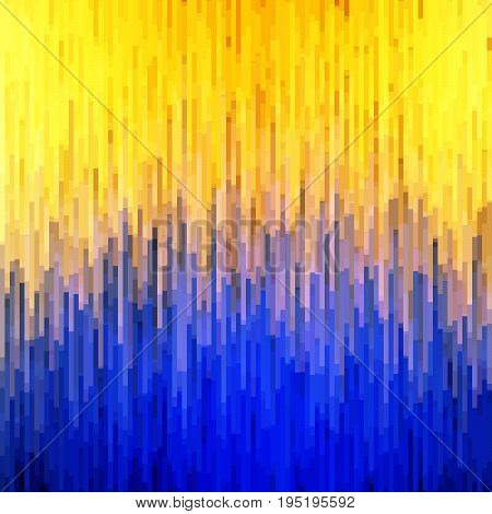 Abstract background. Bright music visualization. Geometric texture. Contrasting colors