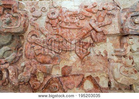 Ancient Mayan Frieze