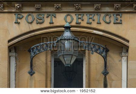 Victorian English Post Office