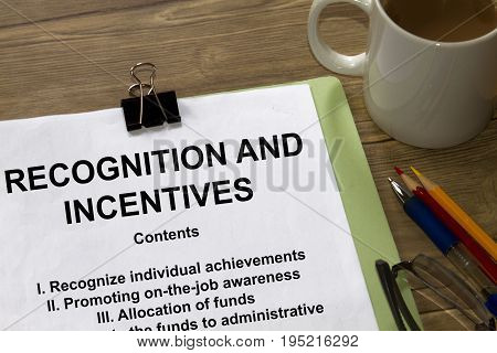 Recognition And Incentives