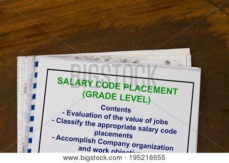 Job Salary Grade