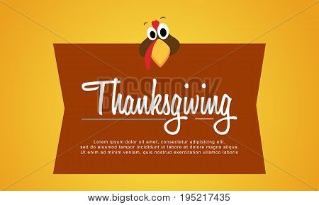Thanksgiving background style collection stock vector illustration