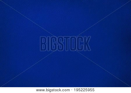 Luxury navy blue leather texture background Close up detail sofa leather and texture