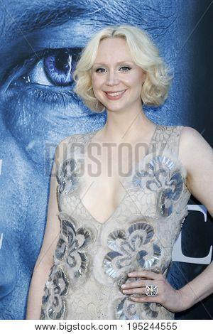 LOS ANGELES - JUL 12:  Gwendoline Christie at the