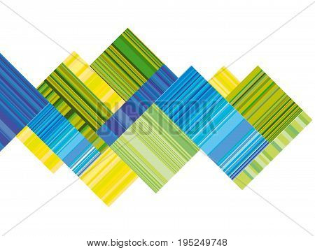 blue and green vector header with colorful stripe. line stripe style color design. pattern wallpaper. geometric background