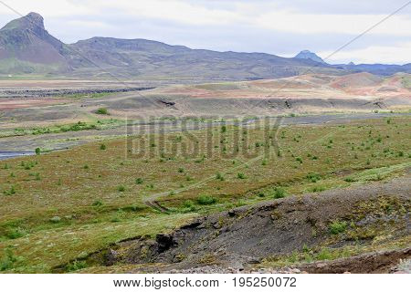Nature In Hiking The Laugavegur Trail In Iceland