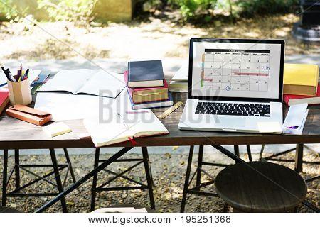 Calendar Planner Agenda Schedule Concept