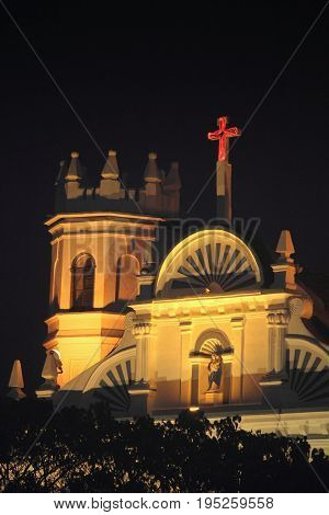 The Church Of Our Lady Of The Rosary Margao Goa India