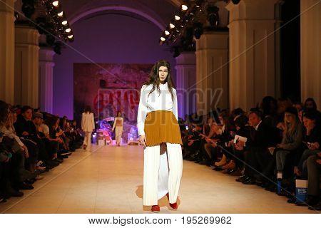 Ukrainian Fashion Week Aw 2017/18: Collection By Gasanova